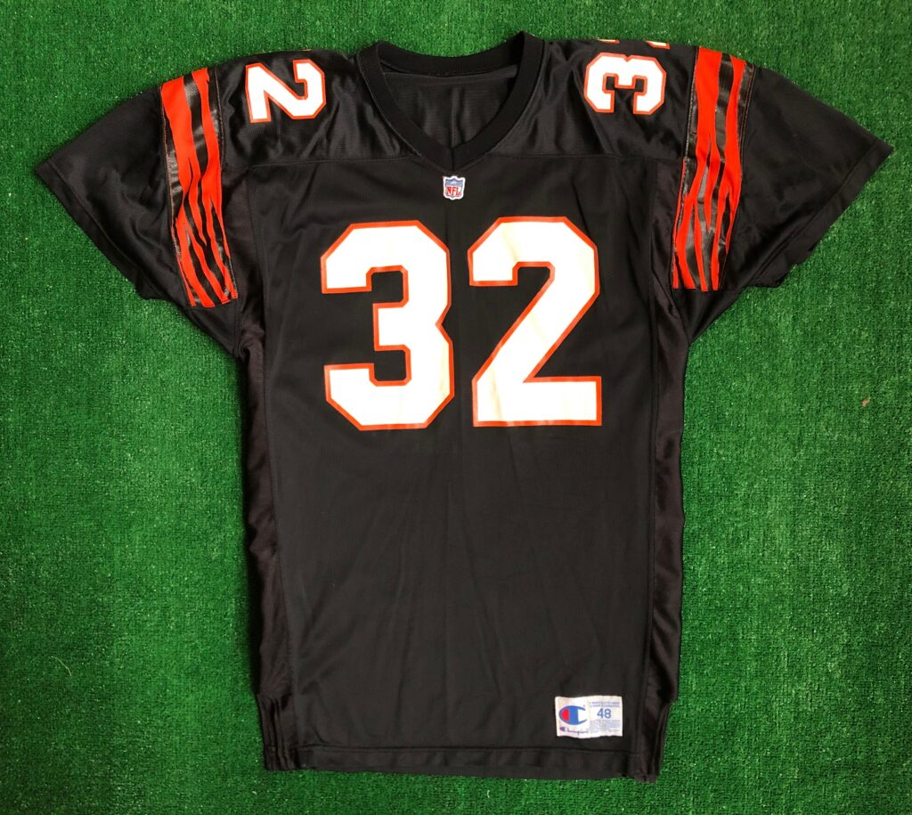 90's Ki-Jana Carter Cincinnati Bengals Champion Authentic NFL ...