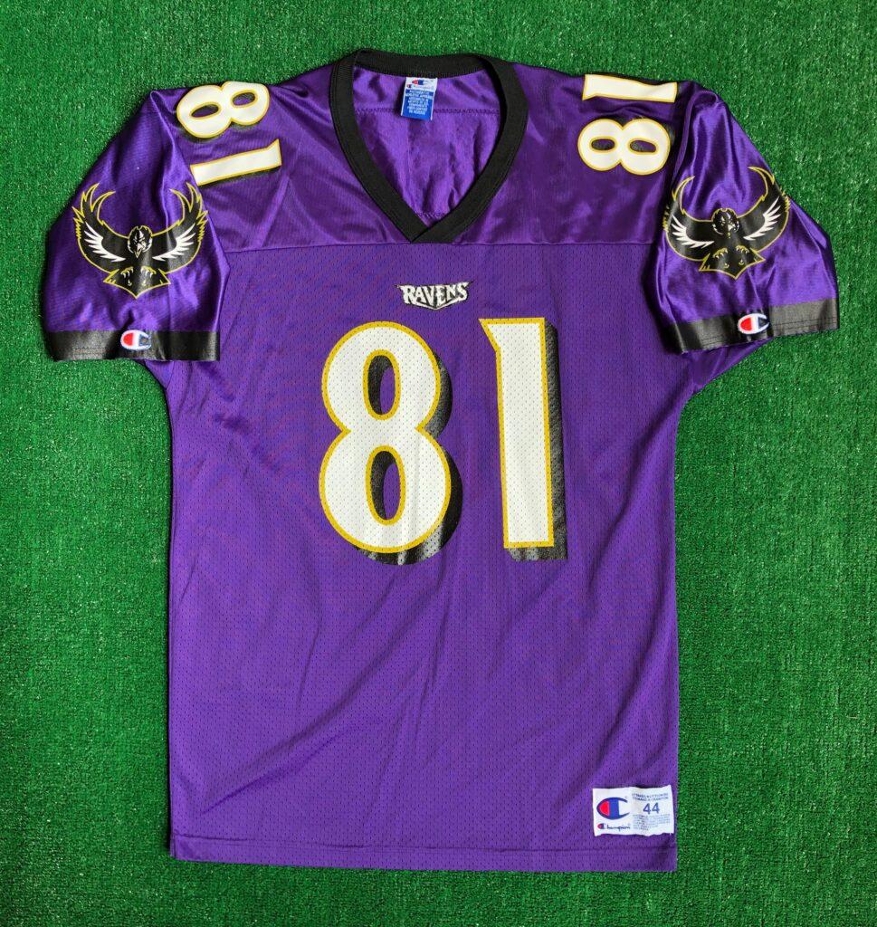 1996 Michael Jackson Baltimore Ravens Champion NFL Jersey Size 44 ...