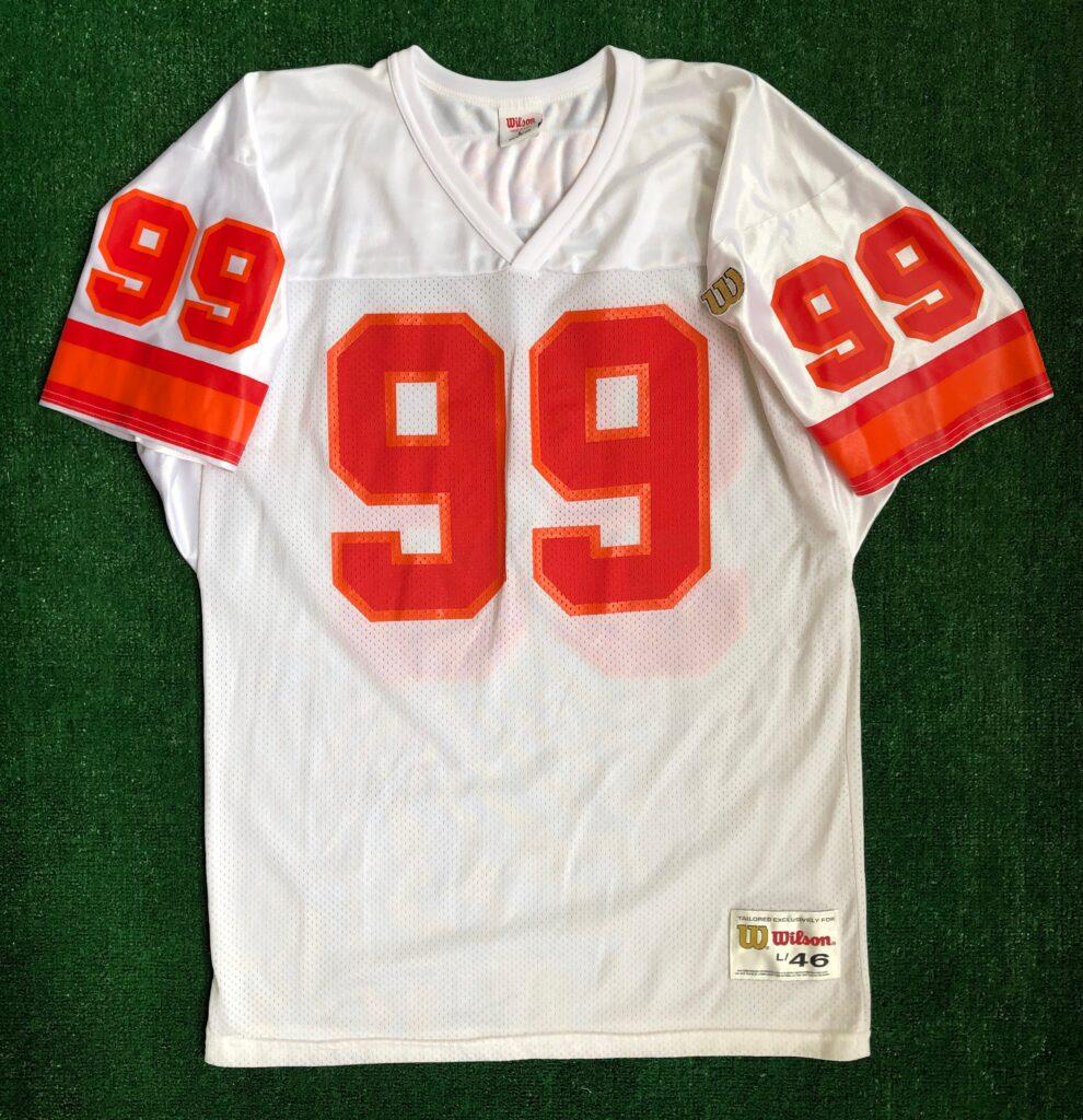 1995 Warren Sapp Tampa Bay Buccaneers Wilson NFL Jersey Size Large ...