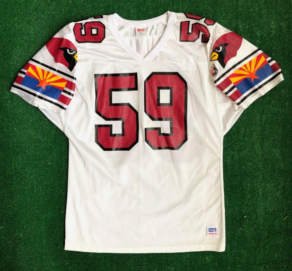 90's Seth Joyner Arizona Cardinals Wilson NFL Jersey Size Large ...