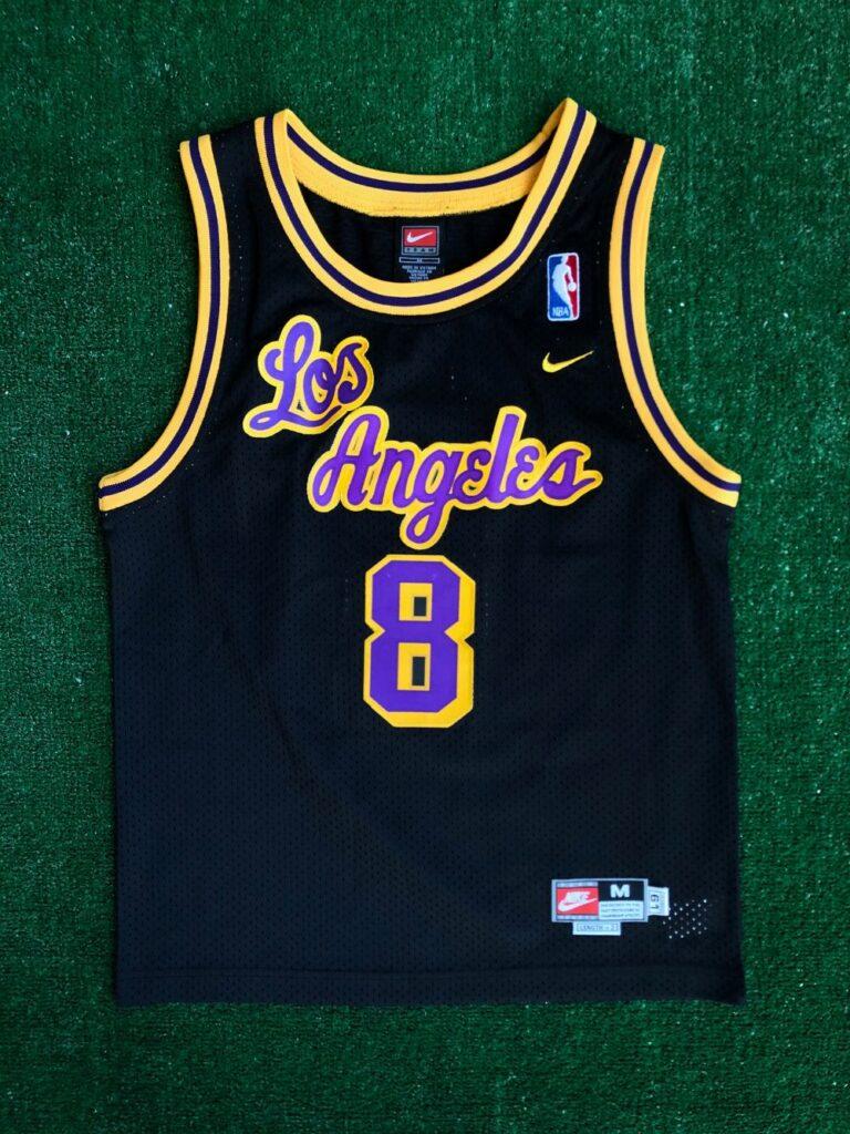 1961 Kobe Bryant LA Lakers Nike Rewind Swingman NBA Jersey Youth ...