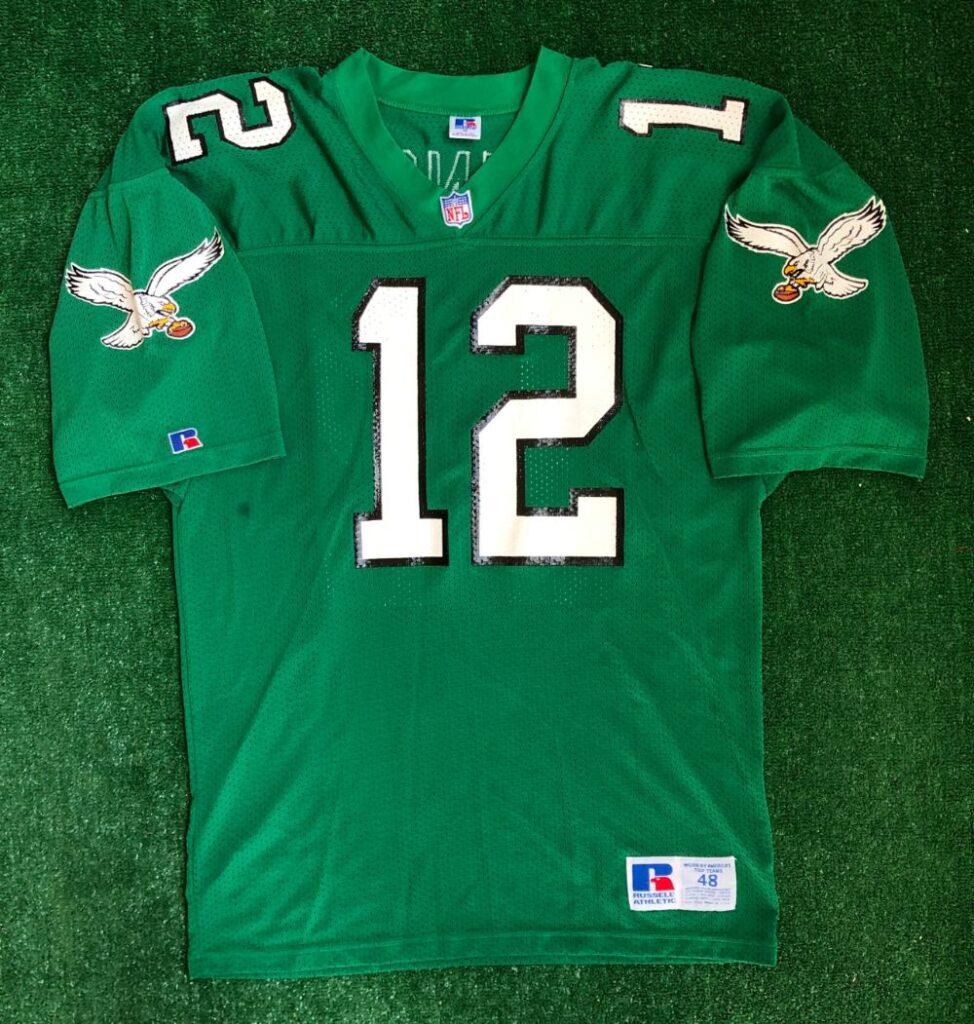 90's Randall Cunningham Philadelphia Eagles Russell Authentic NFL ...