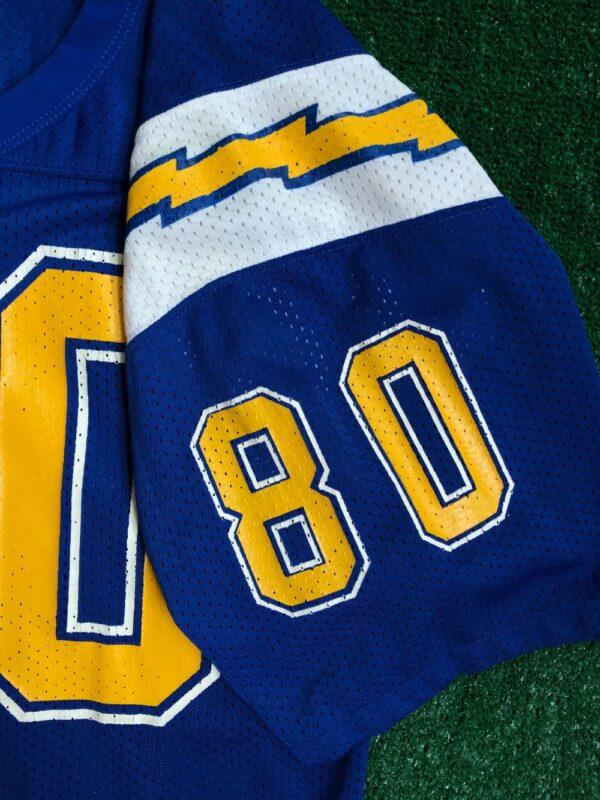 80's Kellen Winslow San Diego Chargers NFL Jersey Size Medium ...