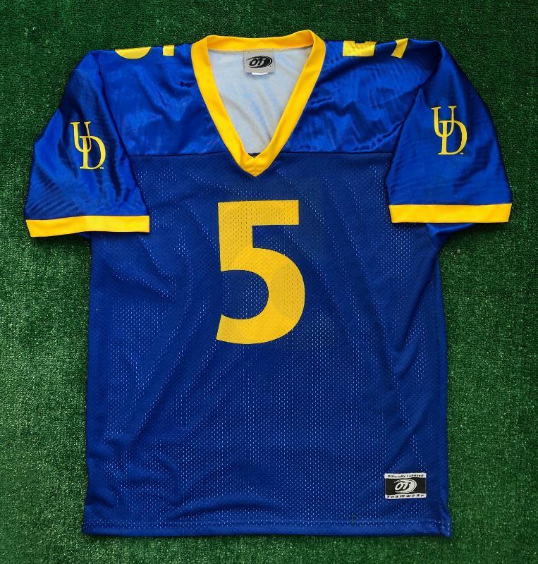 00's Joe Flacco University of Delaware Blue Hens NCAA Jersey Size ...