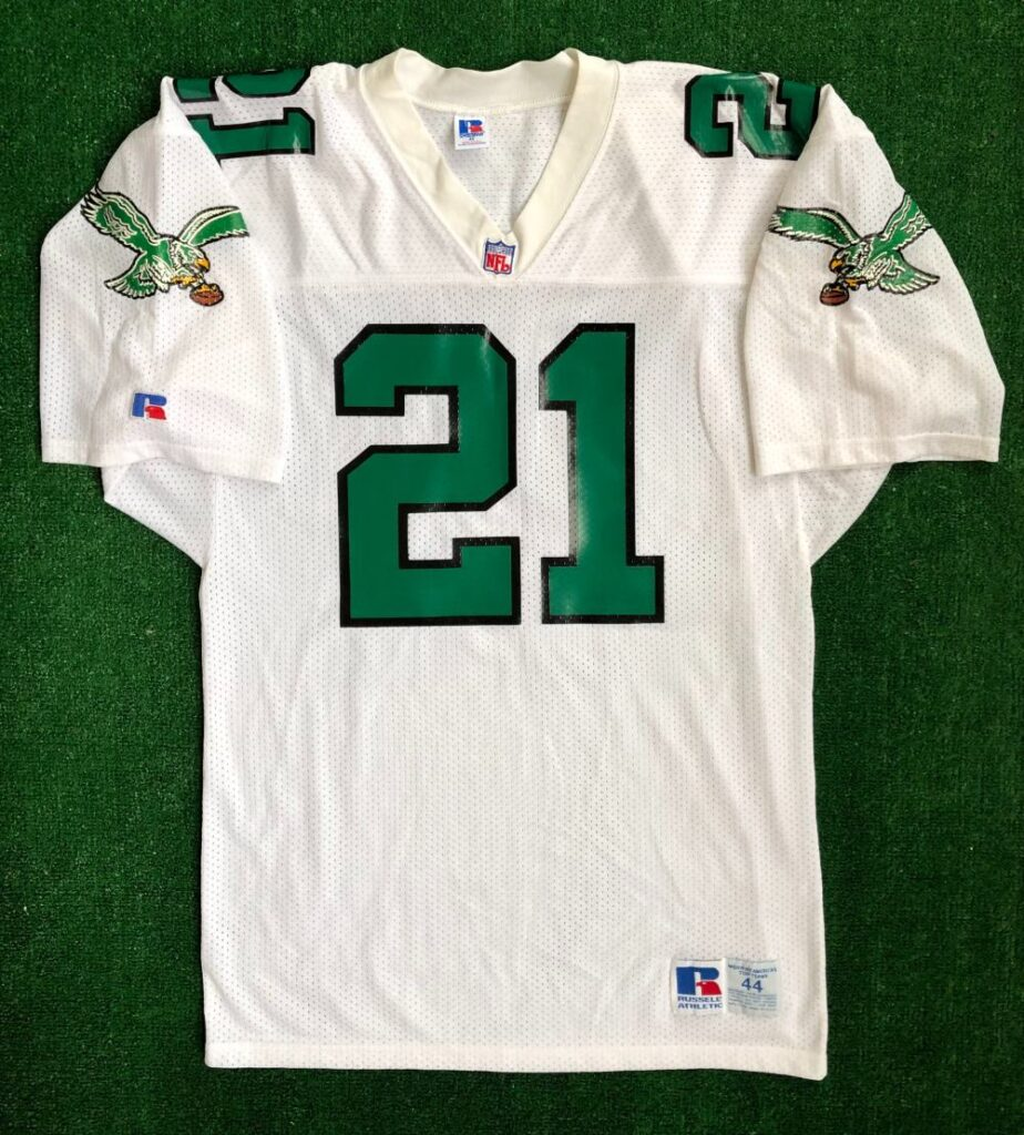 90's Eric Allen Philadelphia Eagles Russell NFL Jersey Size 44 ...