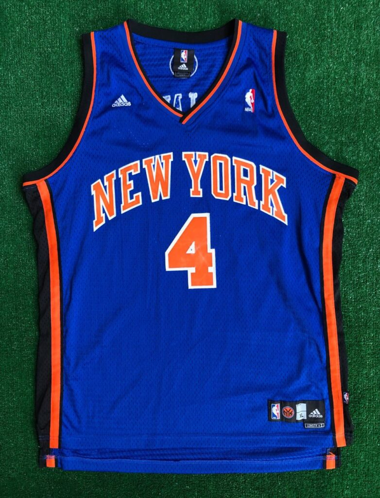 00's Nate Robinson New York Knicks Adidas Swingman NBA Jersey Size ...