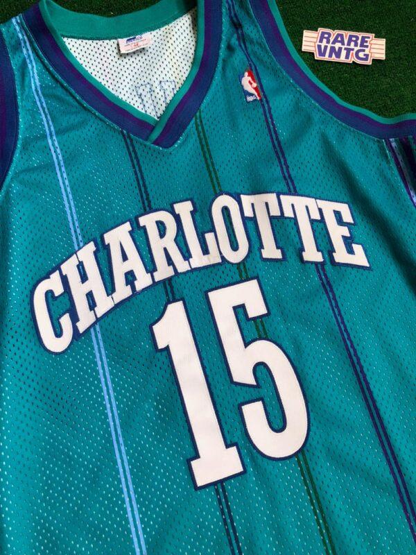 1998 Percy Miller Master P Charlotte Hornets Authentic Starter NBA ...