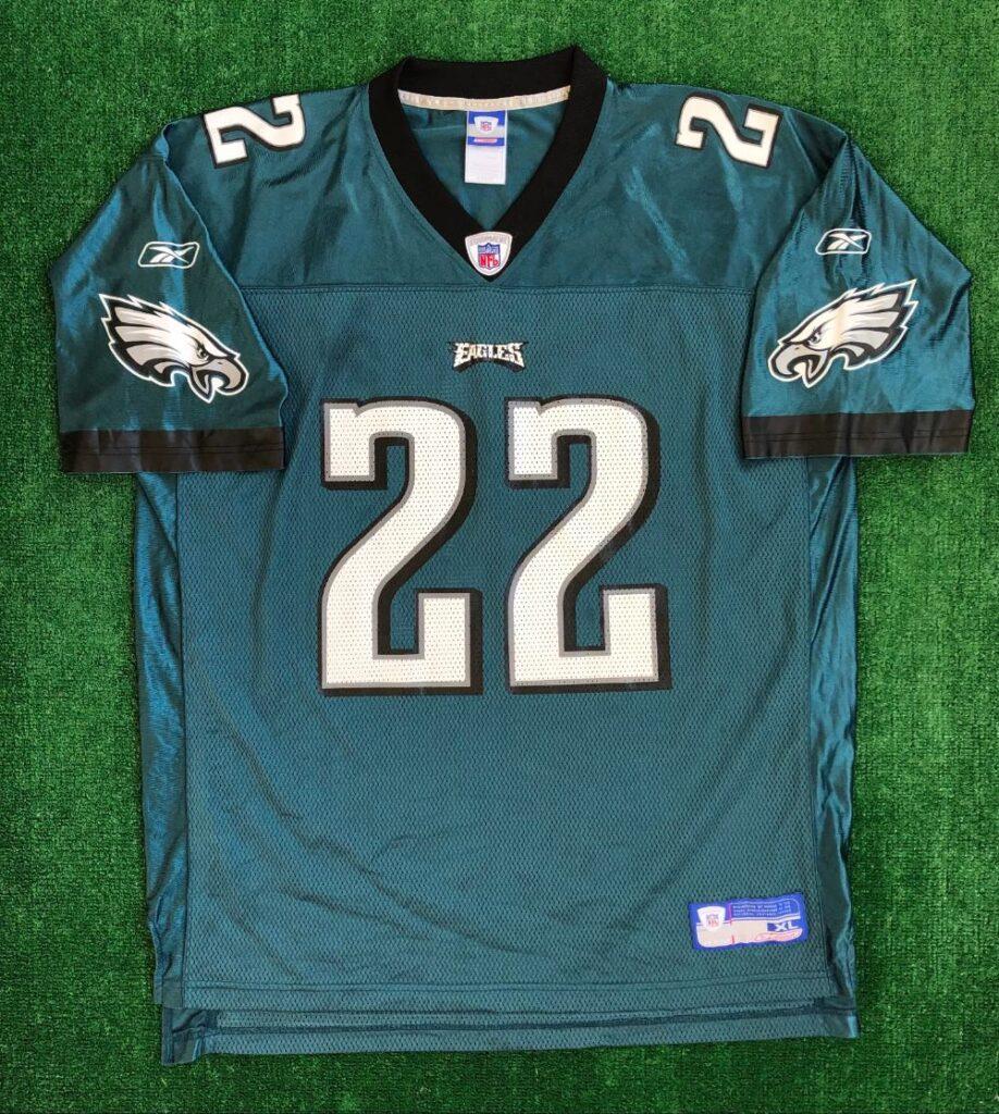 00's Duce Staley Philadelphia Eagles Reebok NFL Jersey Size XL ...