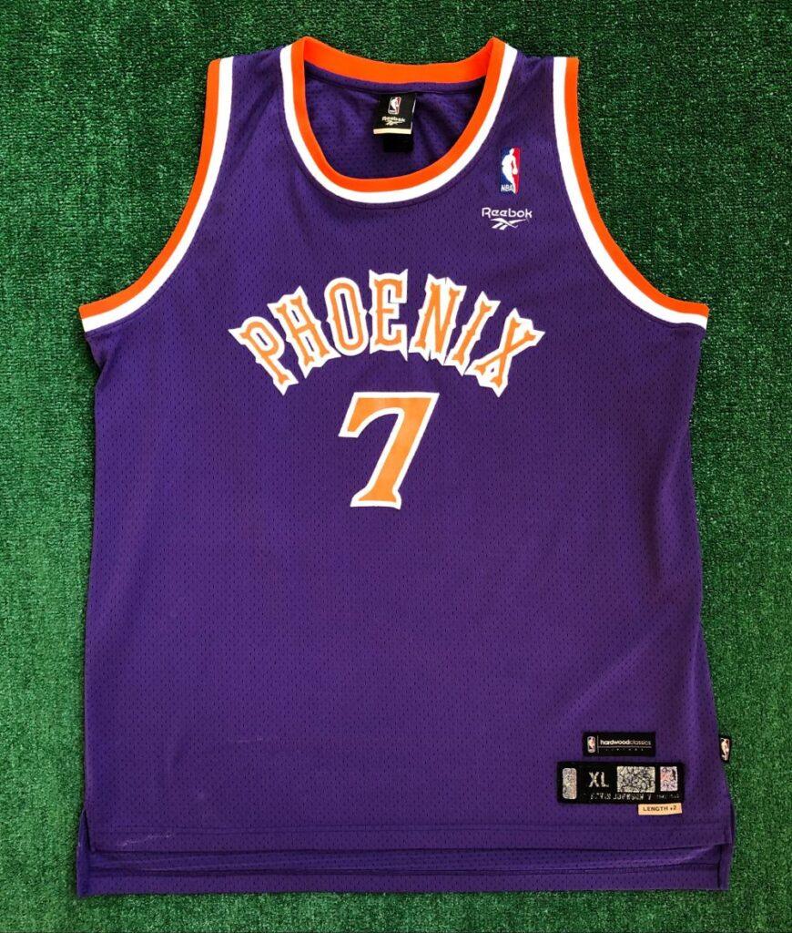 80's Kevin Johnson Phoenix Suns Reebok Hardwood Classic Swingman ...