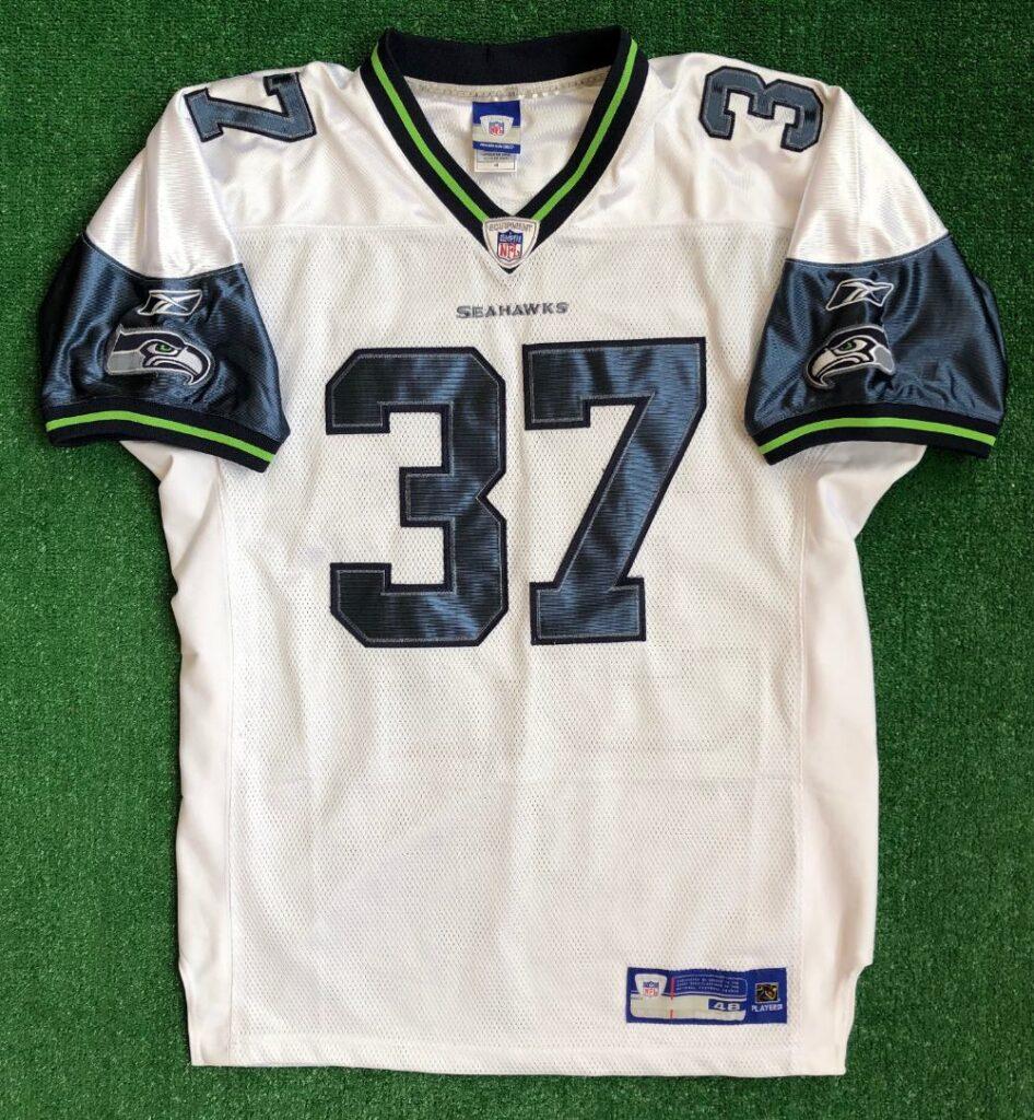 00's Shaun Alexander Seattle Seahawks Authentic Reebok NFL Jersey ...